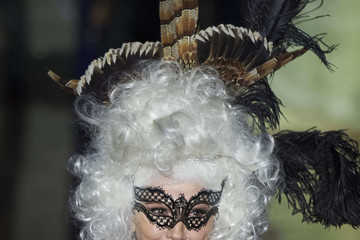 Victoria Abril Andres Sarda Catwalk - Mercedes Benz Fashion Week Madrid Autumn / Winter 2017