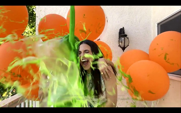 Entertainment  Pictures of the Month - May 2020 [entertainment pictures of the month,orange,organism,fun,art,photography,illustration,graphic design,computer,victoria justice,screengrab,wallpaper,balloon,organism,nickelodeon\u00e2,kids\u00e2,tm choice awards 2020: celebrate together,wallpaper,balloon,computer,m]