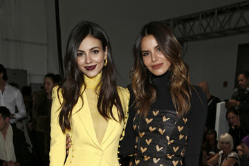 Victoria Justice Madison Reed Pamella Roland - Front Row - February 2019 - New York Fashion Week