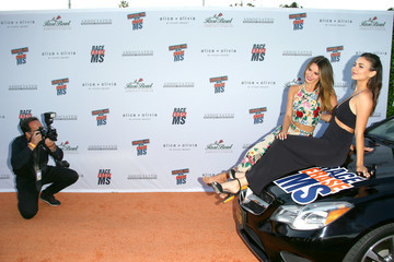 Victoria Justice Madison Reed 28th Annual Race To Erase MS Gala - Arrivals
