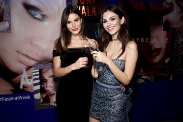 Victoria Justice Madison Reed Maybelline New York x V Magazine Party