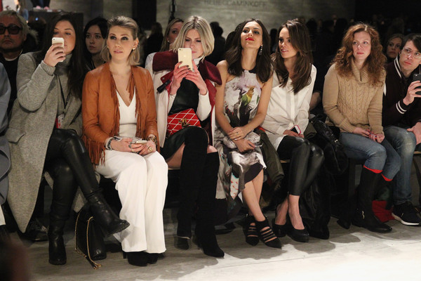 TRESemme at Rebecca Minkoff Mercedes-Benz Fashion Week Fall 2015 - Backstage/Front Row