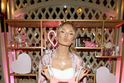 Victoria's Secret Angel Romee Strijd attends Victoria's Secret Ultimate Girls Night In with Angels Josephine Skriver and Romee Strijd at Peninsula Hotel on February 6, 2018 in Beverly Hills, California.