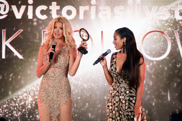 Inaugural 'World Bloggers Awards' - The 72nd Annual Cannes Film Festival [the\u00e2 inaugural,performance,music artist,singing,singer,song,event,yellow,talent show,fashion,performing arts,influencers,greta sapkaite,r,victoria silvstdt,first,world,world\u00e2,world bloggers awards,annual cannes film festival]