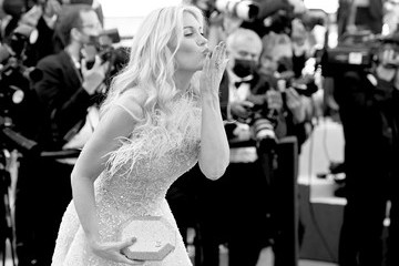 """Victoria Silvstedt """"Tre Piani (Three Floors)"""" Red Carpet - The 74th Annual Cannes Film Festival"""