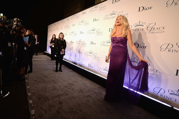 Victoria Silvstedt 2016 Princess Grace Awards Gala With Presenting Sponsor Christian Dior Couture - Arrivals