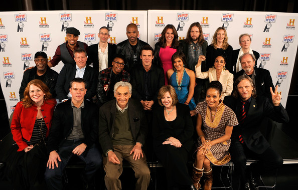 "History's NYC Premiere Of ""The People Speak""- Backstage"