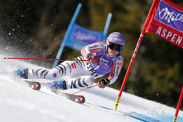 Viktoria Rebensburg Audi FIS Alpine Ski World Cup - Men's Slalom and Women's Giant Slalom