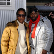 Hassan Johnson and Andre Royo
