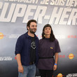 """Vimala Pons Premiere Of The Movie """"How Did I Become A Super Hero"""" At Cour Carre Du Louvre"""
