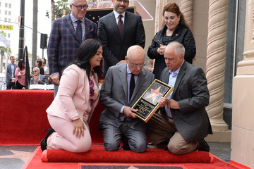 Vin Di Bona Alan Arkin Honored With A Star On The Hollywood Walk Of Fame