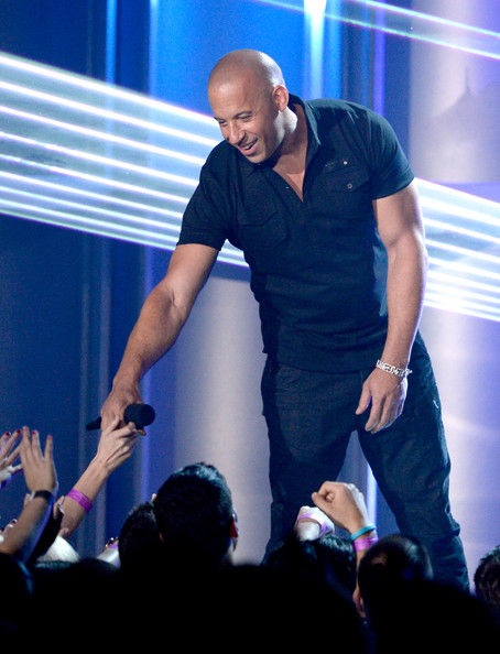 Vin Diesel Photos Photos - 2013 MTV Movie Awards Show - Zimbio