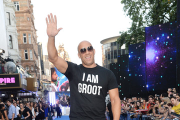 Vin Diesel 'Guardians of the Galaxy' Premieres in London