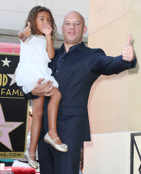 Vin Diesel Daughter http://www.zimbio.com/pictures/3pp2p8HnVX5/Vin+Diesel+Honored+Hollywood+Walk+Fame/PUJZ14HGKKl