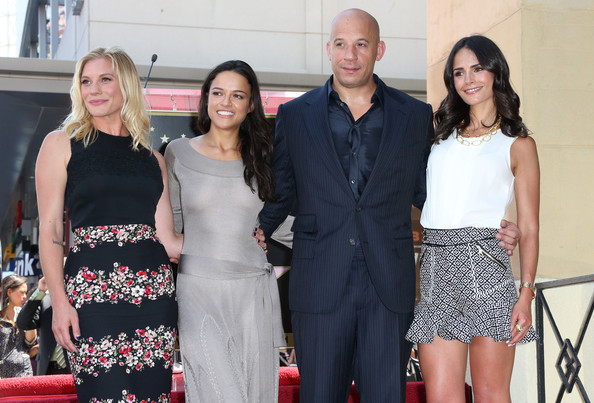 Vin Diesel And Michelle Rodriguez Photoshoot