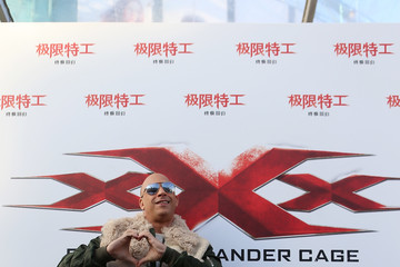 Vin Diesel 'xXx: Return Of Xander Cage' - Press Conference Red Carpet