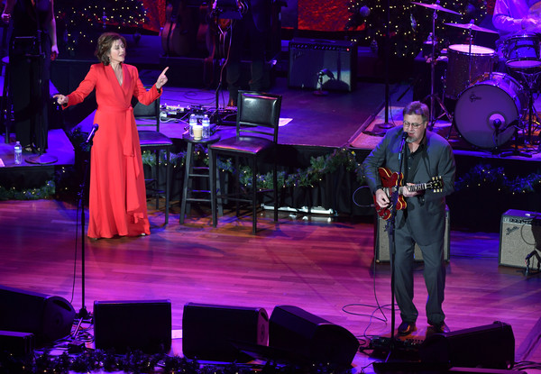 Amy Grant & Vince Gill In Concert - Nashville, TN [performance,entertainment,music,performing arts,stage,musician,music artist,event,performance art,public event,vince gill in concert,christmas at the ryman,nashville,tn,ryman auditorium,amy grant,vince gill]