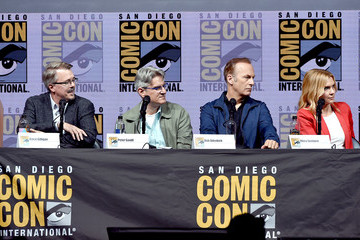 Vince Gilligan Peter Gould Comic-Con International 2018 - AMC's 'Breaking Bad' 10th Anniversary Celebration