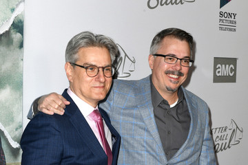 "Vince Gilligan Peter Gould Premiere Of AMC's ""Better Call Saul"" Season 5 - Arrivals"