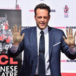 Vince Vaughn's Hand and Footprint Ceremony