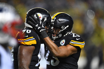 Vince Williams New England Patriots vPittsburgh Steelers