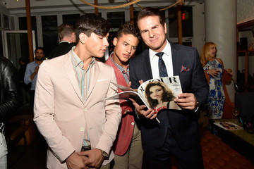 Vincent DePaul DuJour Magazine and Jason Binn Celebrate Fashion Week With Cindy Crawford and Rande Gerber