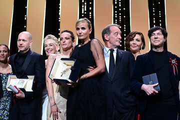 Vincent Lindon Agathe Rousselle Closing Ceremony - The 74th Annual Cannes Film Festival