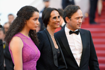 Vincent Perez Iman Perez 'Ismael's Ghosts (Les Fantomes d'Ismael)' and Opening Gala Red Carpet Arrivals - The 70th Annual Cannes Film Festival