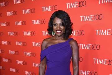 Viola Davis 2017 Time 100 Gala - Red Carpet
