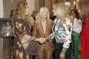 Cleo Wade, Lili Bosse, and Rosanna Arquette attend Visionary Women celebrate Gloria Steinem in conversation with Cleo Wade at the Beverly Wilshire, A Four Seasons Hotel on November 18, 2019 in Beverly Hills, California.