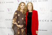 Cleo Wade and Gloria Steinem attend Visionary Women celebrate Gloria Steinem in conversation with Cleo Wade at the Beverly Wilshire, A Four Seasons Hotel on November 18, 2019 in Beverly Hills, California.