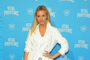 Morgan Stewart attends Vital Proteins Collagen Water Launch Party at Millennium Park on June 19, 2019 in Chicago, Illinois.