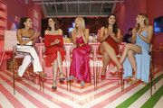 (L-R) Olivia Culpo, Louise Roe, Shea Marie, Bella Golden, and Niamh Adkins attend the Vital Proteins Launches Feed Your Beauty Popup Store in Soho NYC on September 5, 2018 in New York City.