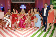 (L-R) Olivia Culpo, Louise Roe, Shea Marie, Bella Golden, Niamh Adkins, and Kurt Seidensticker attend the Vital Proteins Launches Feed Your Beauty Popup Store in Soho NYC on September 5, 2018 in New York City.