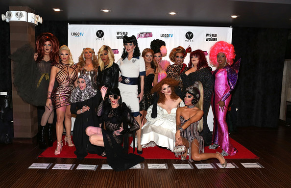 """RuPaul's Drag Race"" Season 6 Party [rupauls drag race,season,social group,event,fashion,fun,party,talent show,performance,fashion design,team,flooring,carrion,magnolia crawford,ben delacreme,kelly mantle,joslyn fox,laganja estranja,adore delano,party]"