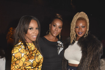 Vivica A. Fox Claire Sulmers Tracy Reese - Front Row - Mercedes-Benz Fashion Week Fall 2015