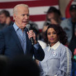 Vivica A. Fox Presidential Candidate Joe Biden Campaigns Ahead Of Primary In South Carolina