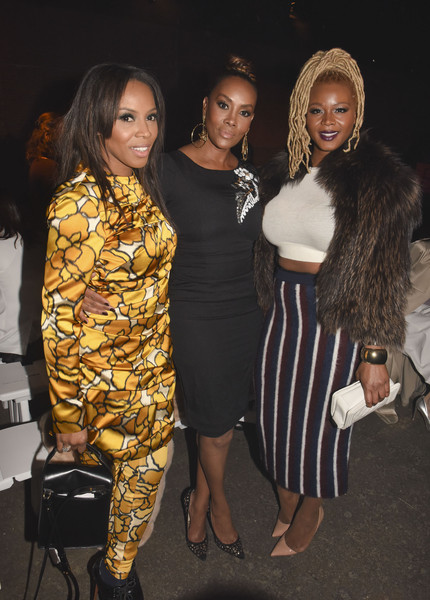 Tracy Reese - Front Row - Mercedes-Benz Fashion Week Fall 2015