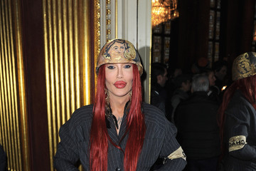 Pete Burns Vivienne Westwood Red Label: Front Row - LFW Autumn/Winter 2012