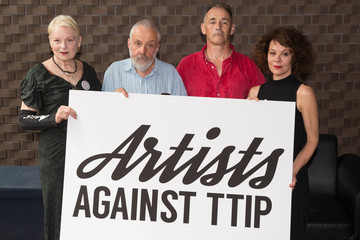Vivienne Westwood Artists Against TTIP Photocall