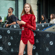 Vlada Roslyakova Street Style - New York Fashion Week September 2019 - Day 4