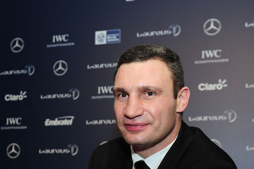 Vladimir Klitschko Arrivals - 2013 Laureus World Sports Awards