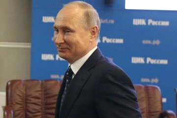 Vladimir Putin Russian President Vladimir Putin Registers As A Candidate For The Presidential Elections 2018
