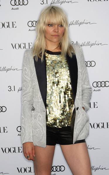 Recording artist Liela Moss attends Vogue's one year anniversary party at the Phillip Lim Los Angeles store on July 15, 2009 in West Hollywood, California.