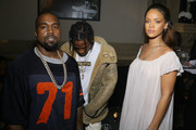Kanye West Travis Scott Photos Photo