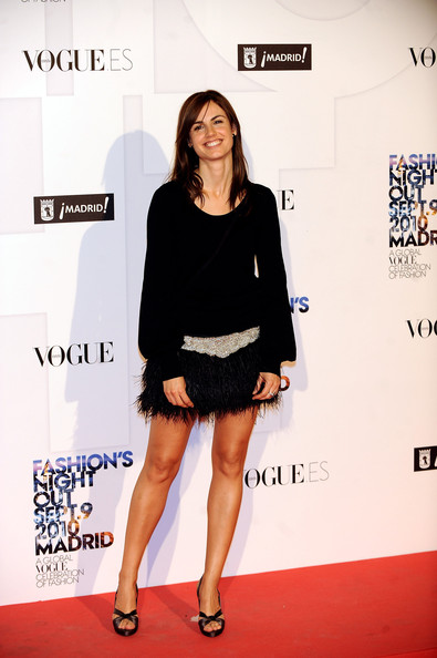Claudia Bassols In 39 Vogue Fashion Night Out 2010 39 In Madrid Zimbio