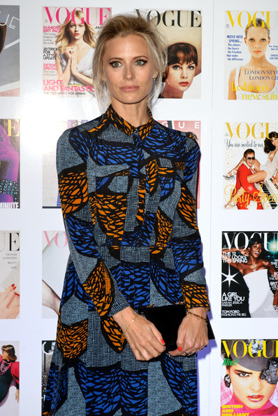Laura Bailey attends The Vogue Festival 2012 cocktail party in association with VERTU at Royal Geographical Society on April 20, 2012 in London, England.