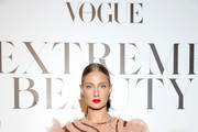 Eva Riccobono attends the Vogue Italia Cocktail Party during the Milan Fashion Week Spring/Summer 2020 on September 20, 2019 in Milan, Italy.