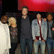 Christina Aguilera and Blake Shelton Photos
