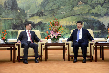 Vuk Jeremic UN General Assembly President Visits China